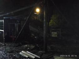 Egy műhelyben keletkezett tűz Csebényben.
