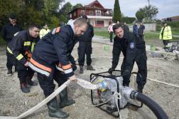 Újraminősítő gyakorlat Dunaszekcsőn